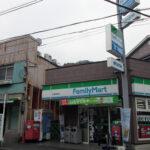 蒔田駅前ファミリーマート 2014年7月