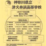 津久井浜高校 平成30年度入試向けチラシ