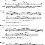 横浜市立戸塚高等学校 平成30年度音楽コース実技検査課題 1