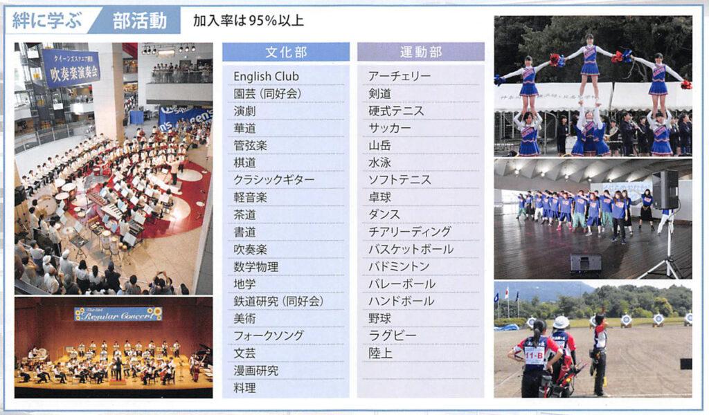 神奈川県立横浜緑ケ丘高等学校 平成30年度入試向けパンフレット 3ページ中段