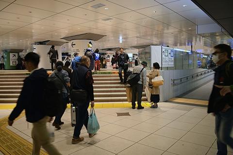 東京駅 浜口雄幸首相遭難現場1 2019 年撮影