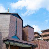 森村学園すぐの売物件 宗教施設「つくし野八角堂」